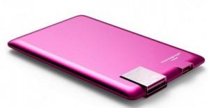 фото Внешний аккумулятор Xoopar 'Power Card, фуксия' (XP61057.24RV) #2