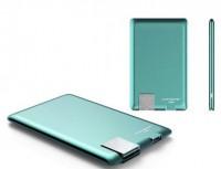 Внешний аккумулятор Xoopar 'Power Card, мятный' (XP61057.30RV)