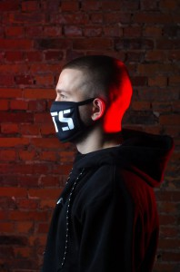 фото Маска на лицо Пушка Огонь 'BTS', черная #4