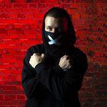 фото Маска на лицо Пушка Огонь 'Cross', черная #4