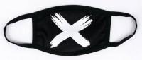 Подарок Маска на лицо Пушка Огонь 'Cross', черная