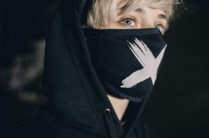 фото Маска на лицо Пушка Огонь 'Cross', черная #2
