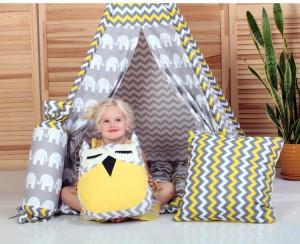 Игровая палатка - вигвам ' Бонбон - Египет с подушками' (010116)