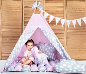 Игровая палатка - вигвам ' Бонбон - Нежность' (010126)
