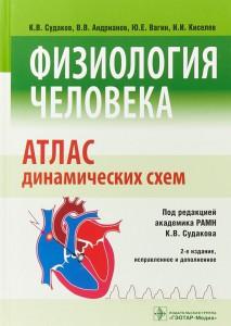 Книга Физиология человека. Атлас динамических схем