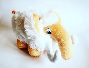 фото Мягкая игрушка 'Мамонт PHP', белый #3