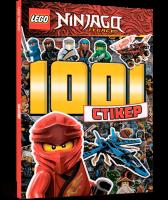 Книга LEGO. Ninjago. 1001 стікер