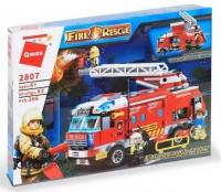 Конструктор Brick 'Пожарная техника' (2807)