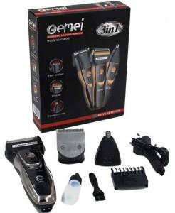 Подарок Машинка для стрижки волос 3в1 Gemei GM-595