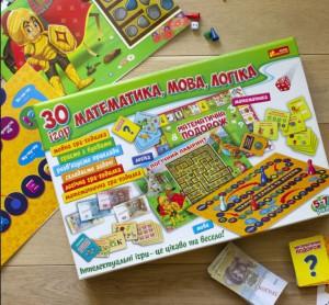 фото Настільна гра Ранок '30 ігор. Математика, мова, логіка' (12109100У) #3