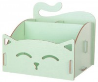 Подарок Органайзер для косметики 'My Cat' Зеленый
