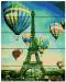 Картина по номерам на дереве. Rainbow Art 'Воздушные шары' (RA0134-RA)