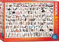 Пазл Eurographics 'Мир кошек', 1000 элементов (6000-0580)