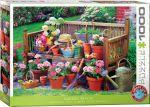 Пазл Eurographics 'Садовая скамейка' 1000 элементов (6000-5345)