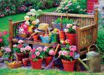 фото Пазл Eurographics 'Садовая скамейка' 1000 элементов (6000-5345) #2