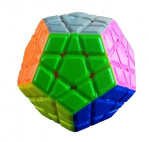 Головоломка QiYi 'X-Man Megaminx Stickerless' (0934C-2)