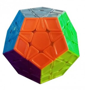 Головоломка QiYi 'X-Man Megaminx Stickerless' (0934C-4)