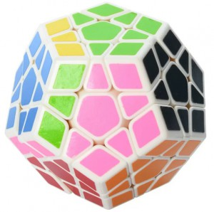 Головоломка QiYi 'X-Man Megaminx Stickerless' (0934C-5)