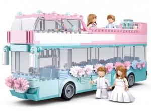 фото Конструктор Sluban 'Свадебный автобус' (M38-B0769) #2