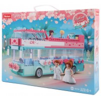 Конструктор Sluban 'Свадебный автобус' (M38-B0769)