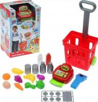 Игровой набор  Metr +'Кассовый аппарат и тележка ' (661-84)