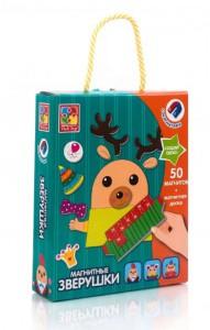Магнитная игра Vladi Toys 'Магнитные зверушки' (VT3702-10)