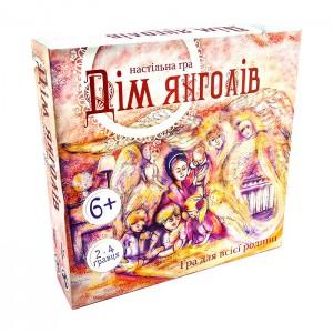 Настільна гра Strateg 'Дім янголів', 49 елементів (30101)