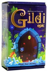 Карткова настільна гра Strateg Gildi Epic (30467)