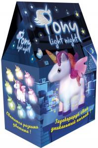 Набір для творчості Strateg 'Pony light night' (30704)