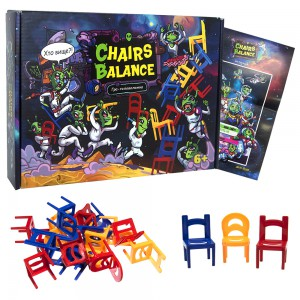 фото Настільна гра Strateg 'Chairs Balance (30408) #2
