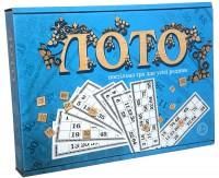 Настільна гра Strateg 'Лото' з дерев'яними фішками' (30662)