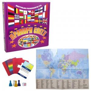 фото Настільна пізнавальна гра Strateg 'Прапори світу' (648) #2