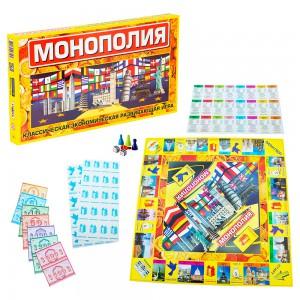 фото Настольная игра Strateg 'Монополия' (693) #2