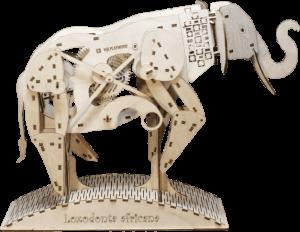 Механический конструктор из дерева Mr.Playwood 'Слон'