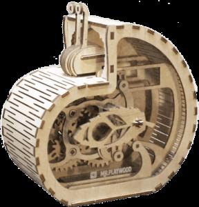 Механический конструктор из дерева Mr.Playwood 'Улитка-копилка'