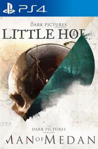 игра The Dark Pictures: Man of Medan & Little Hope  PS4 - русская версия