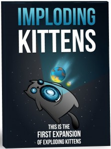 Дополнение к настольной игре Exploding Kittens 'Imploding Kittens' (4715)