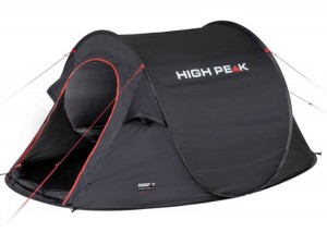 Палатка High Peak Vision 3 Black (928263)