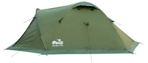 Палатка Tramp Mountain 4 v2 Зеленая (TRT-024-green)