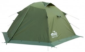 Палатка Tramp Peak 2 v2 Зеленый (TRT-025-green)