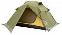 Палатка Tramp Peak 3 v2 Зеленый (TRT-026-green)
