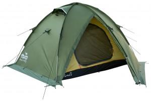 Палатка Tramp Rock 2 v2 Зеленая (TRT-027-green)