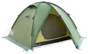 Палатка Tramp Rock 4 v2 Зеленая (TRT-029-green)