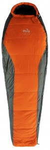 Спальный мешок Tramp Fjord Regular правый, оранж/серый, 225/80-55 (TRS-049R-R)