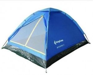 Палатка KingCamp Monodome 3(KT3010) (blue) (KT3010BL)