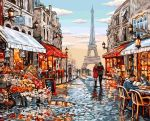 Картина по номерам Dankotoys 'Цветочный магазин Парижа' (KpN-01-09)