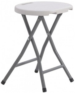 Стол складной круглый Time Eco ТЕ-1831 Белый (4820211100681)
