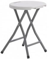 Стол складной круглый Time Eco ТЕ-1832 Белый (4820211100698)