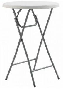 Стол складной круглый Time Eco ТЕ-1832 Белый (4820211100711)