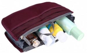 фото Большой органайзер для вещей Bag in Bag maxi, бордовый (100577) #3